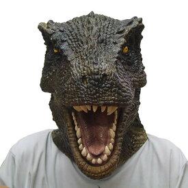 T−REX マスク ティラノサウルス【恐竜 ラバーマスク かぶりもの 恐竜グッズ 恐竜マスク 被り物 変装 コスプレ ゴムマスク】マジックナイト OS56127