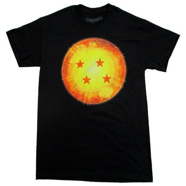 ドラゴンボール 四星球 ブラック【USA版 ドラゴンボールZ Tシャツ】S M Lサイズ 送料一律590円 ネコポス可 マジックナイト DZAS2065