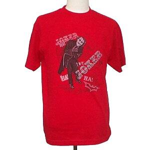 バットマン ダークナイト ジョーカー Tシャツ ディック【ジョーカー 赤 かっこいい キャラクター Tシャツ メンズ 海外版】S Lサイズ ネコポス発送 マジックナイト BM1483