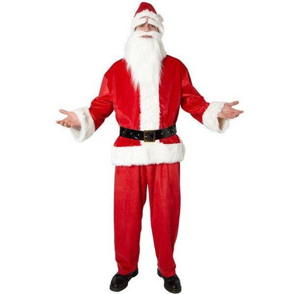 GOGOサンタさん レッド 白い手袋付き メンズ 大人用 男性用 Mens【コスチューム クリスマス サンタさん サンタ衣装 サンタ服仮装 変装】白い手袋プレゼント マジックナイト CS827726