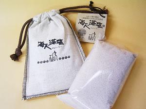 海人の藻塩(もしお)300g