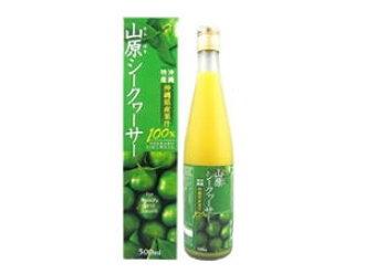 Yamahara shikuwasa 沖繩縣從水果果汁 100 %500 毫升