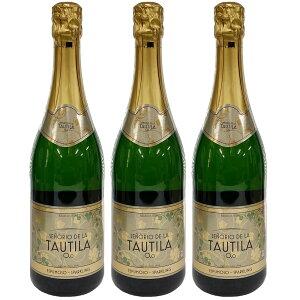 【3本セット】TAUTILA(タウティラ) ノンアルコールワインスパークリング 750ml【送料無料】