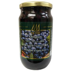 デルタインターナショナルオレゴン産ブルーベリーシロップ漬け850g