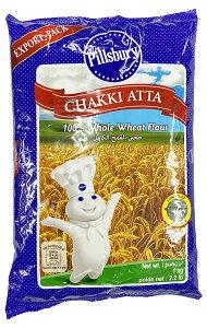 【訳あり 賞味期限2020年12月末】Pillsbury Chakki Atta アタ粉(全粒粉) 1kg