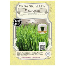 A281 有機種子 ウィートグラス(スムージー&ジュース用)【固定種】【メール便配送】グリーンフィールドプロジェクト種子