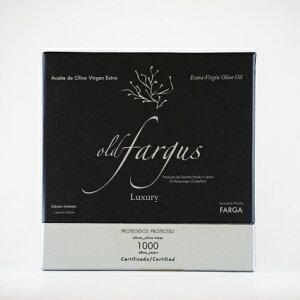 世界最高級のエクストラバージンオリーブオイルOLDFARGUS1000YEARS樹齢1000年ファルガ種500ml