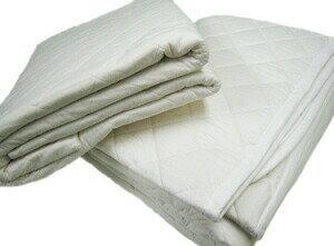 ガーゼと脱脂綿の快適寝具パシーマ パッドシーツ ダブル (サイズ/155×210cm) (きなり色)
