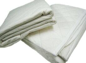 ガーゼと脱脂綿の快適寝具パシーマパッドシーツ シングル (サイズ/110×210cm) (きなり色)