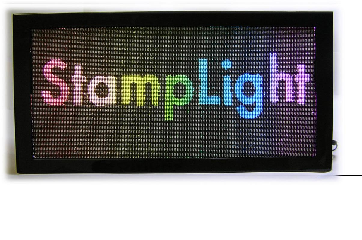 Stamp Light 黒縁