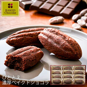 お歳暮 ひととえ 濃厚ベイクドショコラ BCA-15 (-G1921-209-) (t0) ? 出産内祝い 結婚内祝い 快気祝い お祝い チョコレートケーキ ビターチョコ