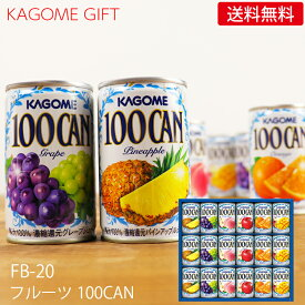 カゴメ フルーツジュースギフト FB-20N (-K8861-906-) (個別送料込み価格)(t0)| お中元 御中元 暑中見舞い 残暑見舞い 内祝い お祝い お返し 人気 果物100 野菜生活100