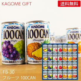 カゴメ フルーツジュースギフト FB-30N (-K8861-807-) (個別送料込み価格)(t0)| お中元 御中元 暑中見舞い 残暑見舞い 内祝い お祝い お返し 人気 果物100 野菜生活100