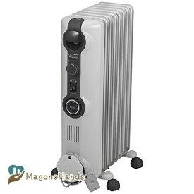 デロンギ(DeLonghi) オイルヒーター [8~10畳用] ゼロ風暖房 ホワイト HJ0812