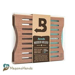 Boveda 葉巻用 木材 ホルダー ヒュミドール 使用 4 (4) サイズ 60 (別売 別売り) 含む 磁気 と ベルクロ 取り付け キット 1-カウント