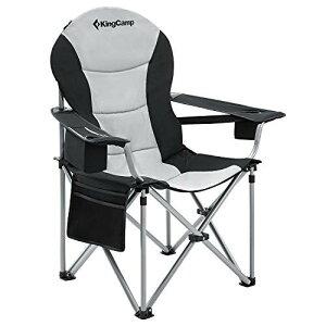 KingCamp アウトドアチェア 折りたたみ キャンプ椅子 収束型 イス 耐荷重160kg アームチェア 收?袋付 釣り ガーデン チェア