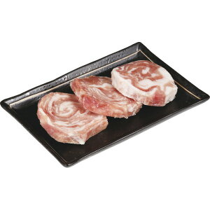 鹿児島県産黒豚 モモ肉ミニロールステーキ(3枚) MPBPRT3[メーカー直送品・メーカー指定熨斗]送料無料