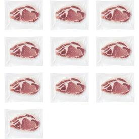 鹿児島県産黒豚 ロースステーキ(10枚) 198710[メーカー直送品・メーカー指定熨斗]
