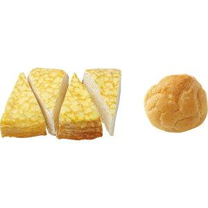 北海道ミルクレープ&シュークリームセット 5815−070068[メーカー直送品・メーカー指定熨斗]送料無料