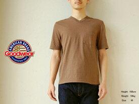 Goodwear (グッドウェア) Vネック ポケットTシャツ