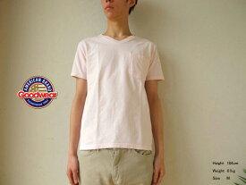 Goodwear(グッドウェア) スリムフィット VネックポケットTシャツ