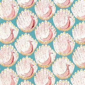 LIBERTYリバティプリント・国産タナローン生地<Peacocks of Grantham Hall>(ザ・ピーコックス・オブ・グランサム・ホール)3635266-15C
