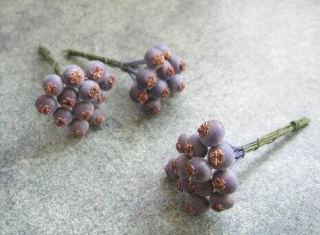 【花材】アーティフィシャルピック 大地農園ブルーベリー・小1袋36本入り ブルー