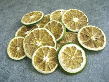 【花材】ドライフルーツ オレンジスライス ナチュラルグリーン1袋