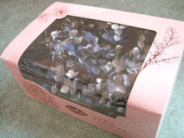 【花材 アジサイ】プリザーブドフラワー 東北花材TOKAソフトあじさいアナベルスプラッシュ1箱 エジプシアン