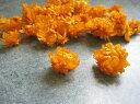 【防虫加工☆花材】ドライフラワー 大地農園ヘリクリサム・ヘッド1袋 テラコッタオレンジ