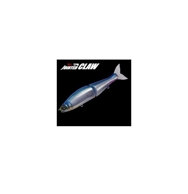 ガンクラフト ジョインテッドクロー 178 カラー:MCパフォーマー【GAN CRAFT JOINTED CLAW】 ジョイクロ バスフィッシング用ビッグベイト