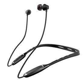 EP-W1 カナル型 Bluetooth イヤホン ワイヤレス 重低音 高音質 音漏れ防止 aptXコーデック ブルートゥース 約17h連続再生 ハンズフリー通話 260h待機 防塵 防汗 防水 ネックバンド型 マグネット吸着 スポーツ ヘッドホン iPhone Android対応 (ブラック レッド)2カラー選択