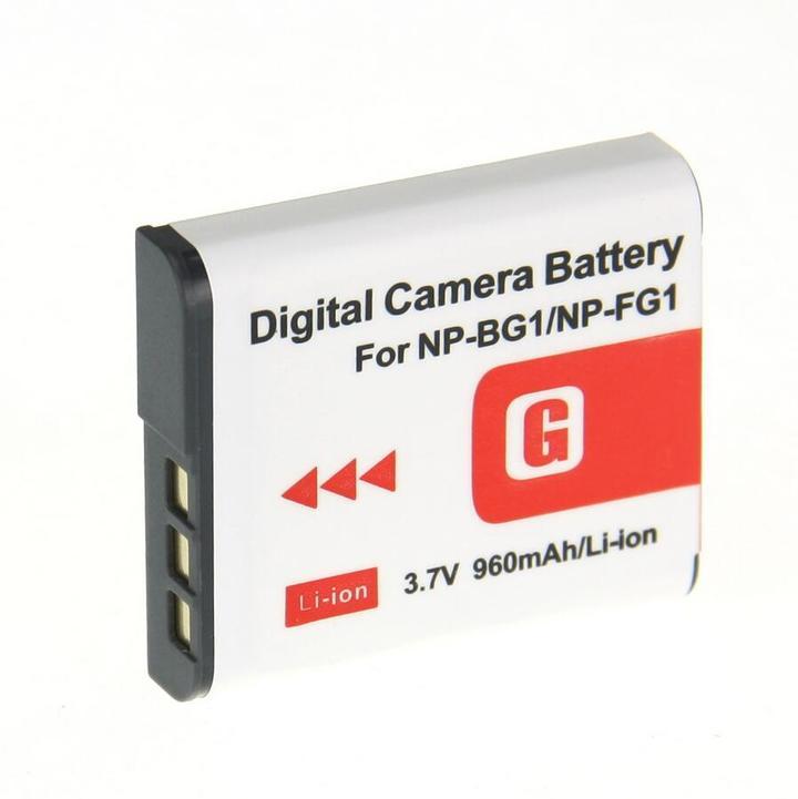 送料無料 NP-BG1/NP-FG1対応 互換 バッテリー パック リチウム電池 SONY ソニー カメラ用
