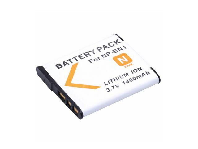 送料無料 SONY NP-BN1対応 互換 バッテリー パック リチウム電池 ソニー カメラ用