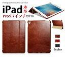 【正規品】iCARER NEW iPad 9.7インチ(2017)/iPad5/iPad Air/Air2/Pro 9.7インチ選択 本革 ビンテージ レザー スマート ケース 三つ折り スタンド オ