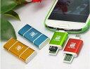 USB2.0/Micro USB 5ピン-Micro SD/TF T-Flash 2in1カードリーダー/ライター OTG マイクロUSB 5ピン アンドロイド...