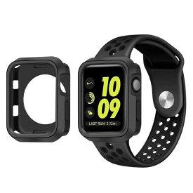 Apple Watch アップルウォッチ 40mm/44mmサイズ選択 ケース カバー 保護ケース 耐衝撃性 脱着簡単 Appleウォッチ シリーズ4/Series4に対応 9色選択