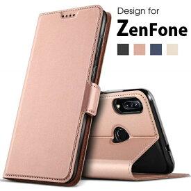 送料無料 ZenFone 6 (ZS630KL)/Live L1 (ZA550KL)/ZenFone Max M2 (ZB633KL)対応 機種選択 高級PUレザー TPU 手帳型 フリップ ケース 保護ケース スタンド機能 マグネット付 カード入れ付 スキンPU(ブラック ネイビー ゴールド ローズゴールド)4色選択
