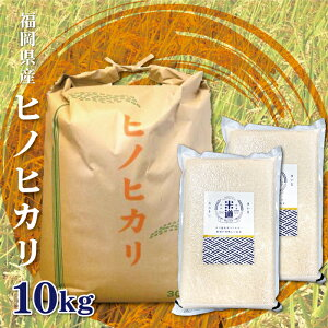 福岡県産 ヒノヒカリ 無洗米 10Kg お米 送料無料 令和元年産 玄米 白米 ごはん 慣行栽培米 検査米 単一原料米 分付き米対応可 保存食 真空パック 長期保存 高級 保存米 期間限定 選べるおまけ