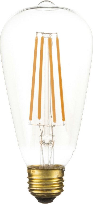 【最安値挑戦中!最大24倍】東谷 LED-102 LED エジソン球L W6.4×D6.4×H14cm [♪]