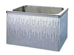 【最大44倍お買い物マラソン】クリナップ 浴槽 SDL-102AW(R・L) モダンブロック・ステンレス浴槽 間口100cm 据置式2方全エプロン [♪△]