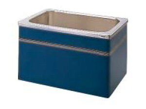 【最大44倍お買い物マラソン】クリナップ 浴槽 SEB-102AW(R・L) ブルー(B) NEWインテリアバス・ステンレス浴槽 間口100cm 据置式2方全エプロン [♪△]