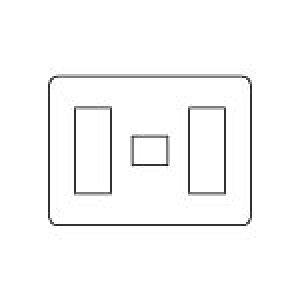 【まいどDIY】電設資材 パナソニック WN6077W モダンプレート 7コ用(3コ+1コ+3コ用) ミルキーホワイト