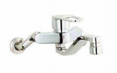 【最安値挑戦中!最大17倍】水栓金具 INAX SF-WM433SY キッチン用 壁付 クロマーレS(エコハンドル) シャワー付 一般地 [□]
