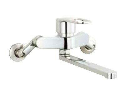 【最安値挑戦中!最大17倍】水栓金具 INAX SF-WM435SY キッチン用 壁付 クロマーレS(エコハンドル) シングルレバー 吐水口長さ220mm 一般地 [〒□]