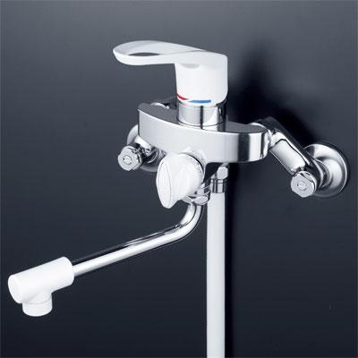 【最安値挑戦中!最大24倍】シャワー水栓 KVK KF5000 シングルレバー式シャワー