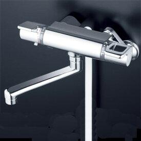 【最安値挑戦中!最大24倍】シャワー水栓 KVK KF880TR2 浴室シャワー水栓 サーモスタット式シャワー 240mmパイプ付