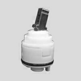 【最安値挑戦中!最大24倍】水栓部材 KVK KPS027H-B シングルレバーコンパクトカートリッジ 上げ吐水用