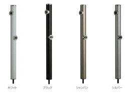【最安値挑戦中!最大24倍】前澤化成工業 HI-16WR×960 水栓柱 丸形アルミ2口水栓柱