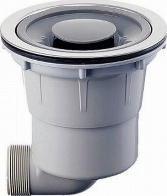 【最安値挑戦中!最大33倍】水栓金具 カクダイ 452-601 浅型流し台トラップ [□]